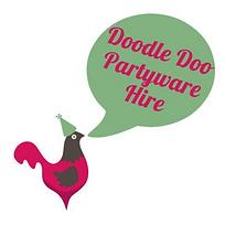 Doodle Doo Partyware Hire