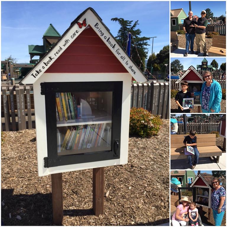 Tatum's Garden Little Library Book Collection