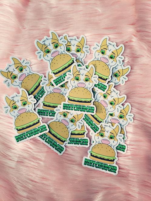 Beezchurger Sticker