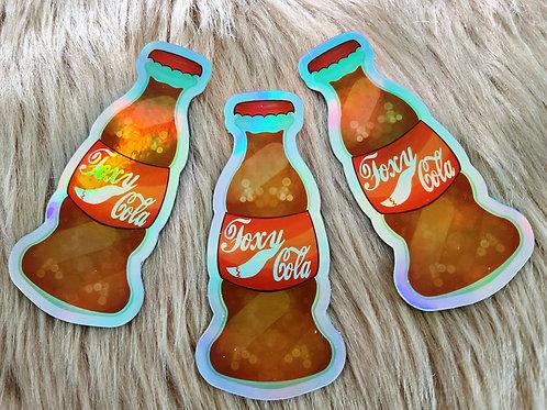 Foxy Cola Sticker