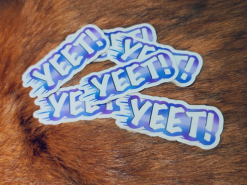 YEET Stickers
