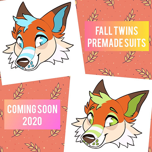 Fall Foxes Fursuit