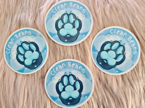 Clean Beans Sticker