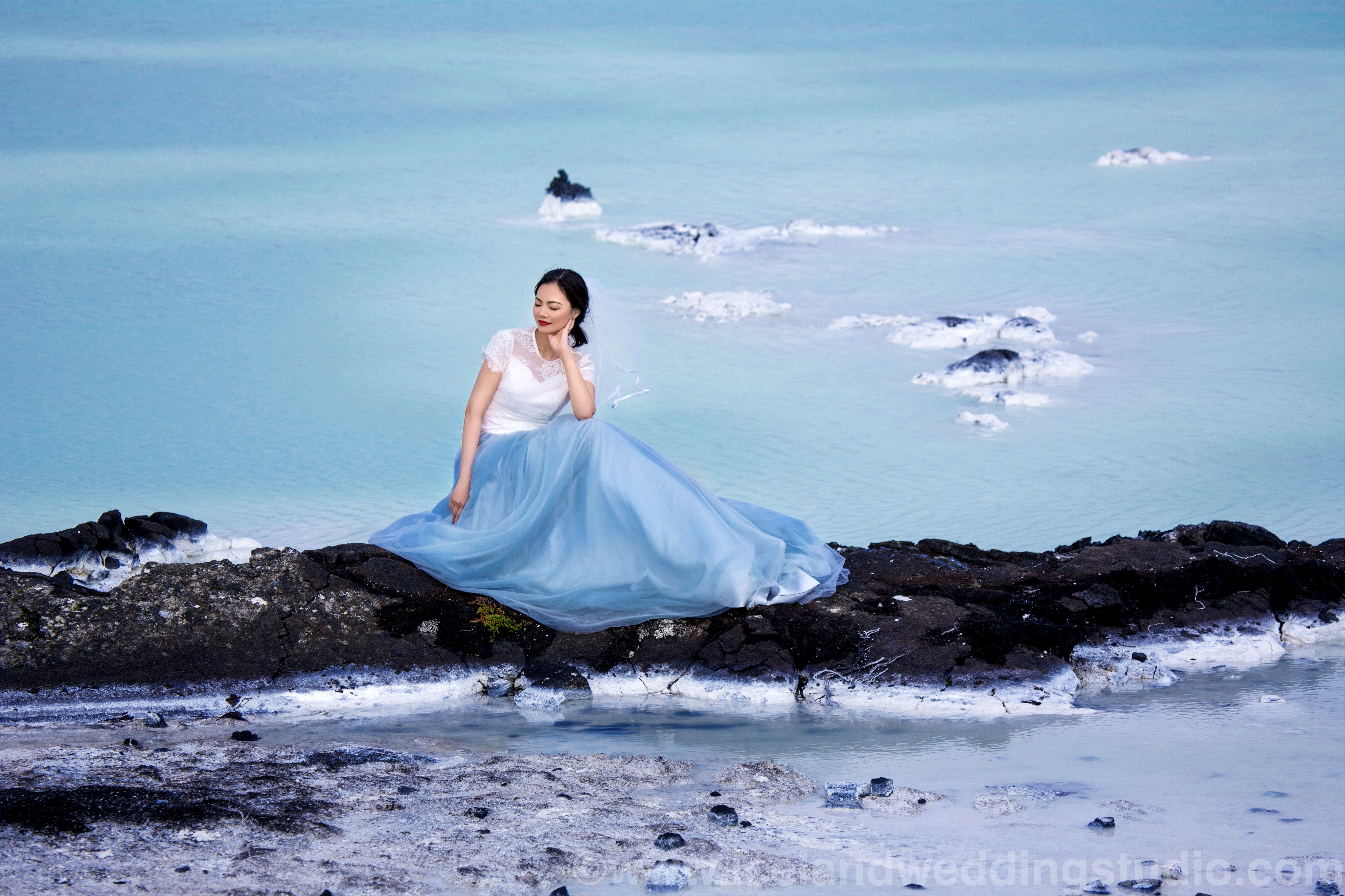 blue lagoon stylish photo