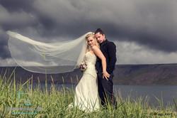 European wild wedding photo