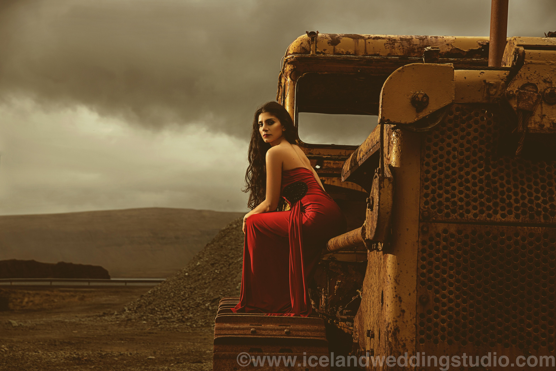 冰岛商业杂志写真,人物造型