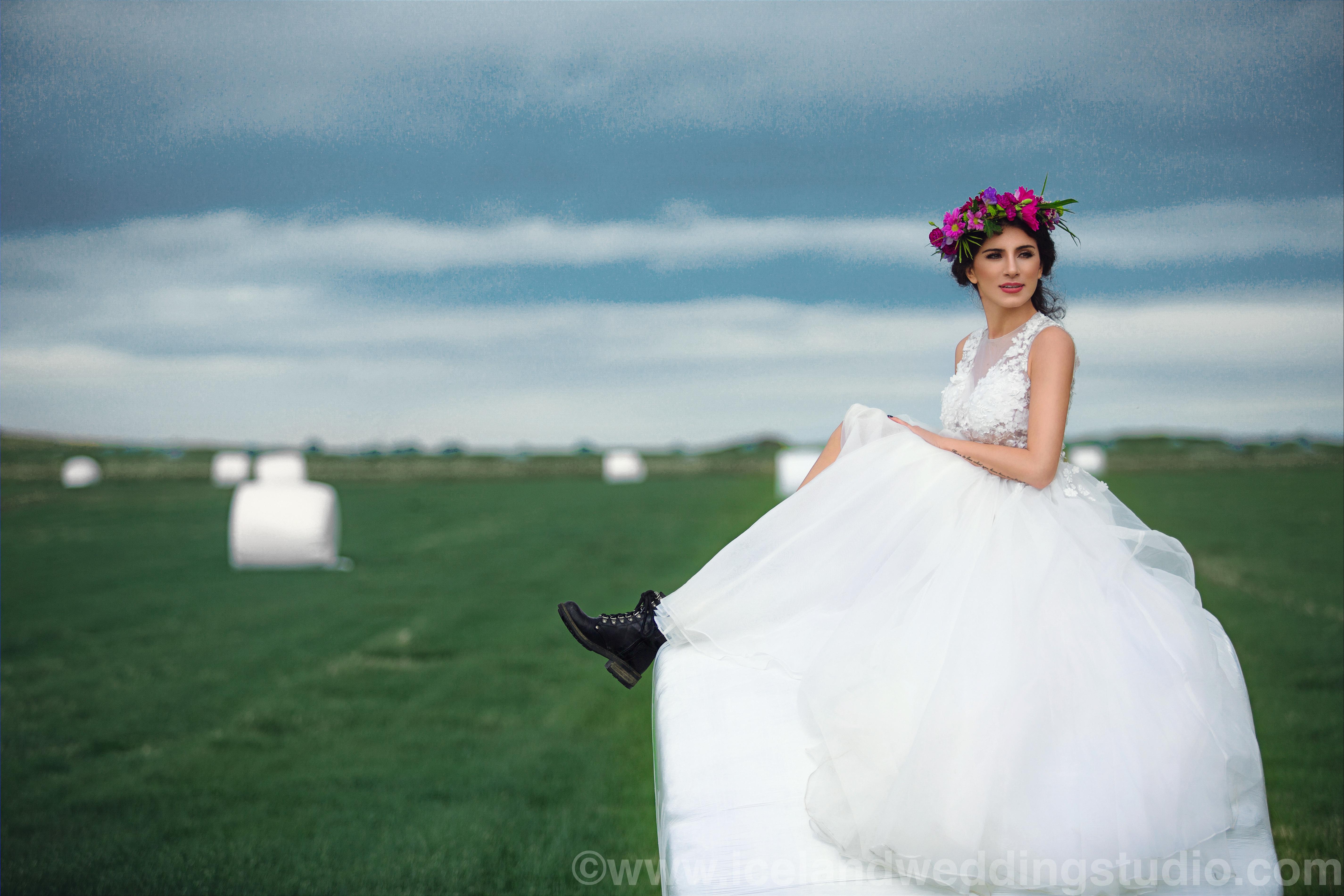 冰岛牧场,婚纱写真