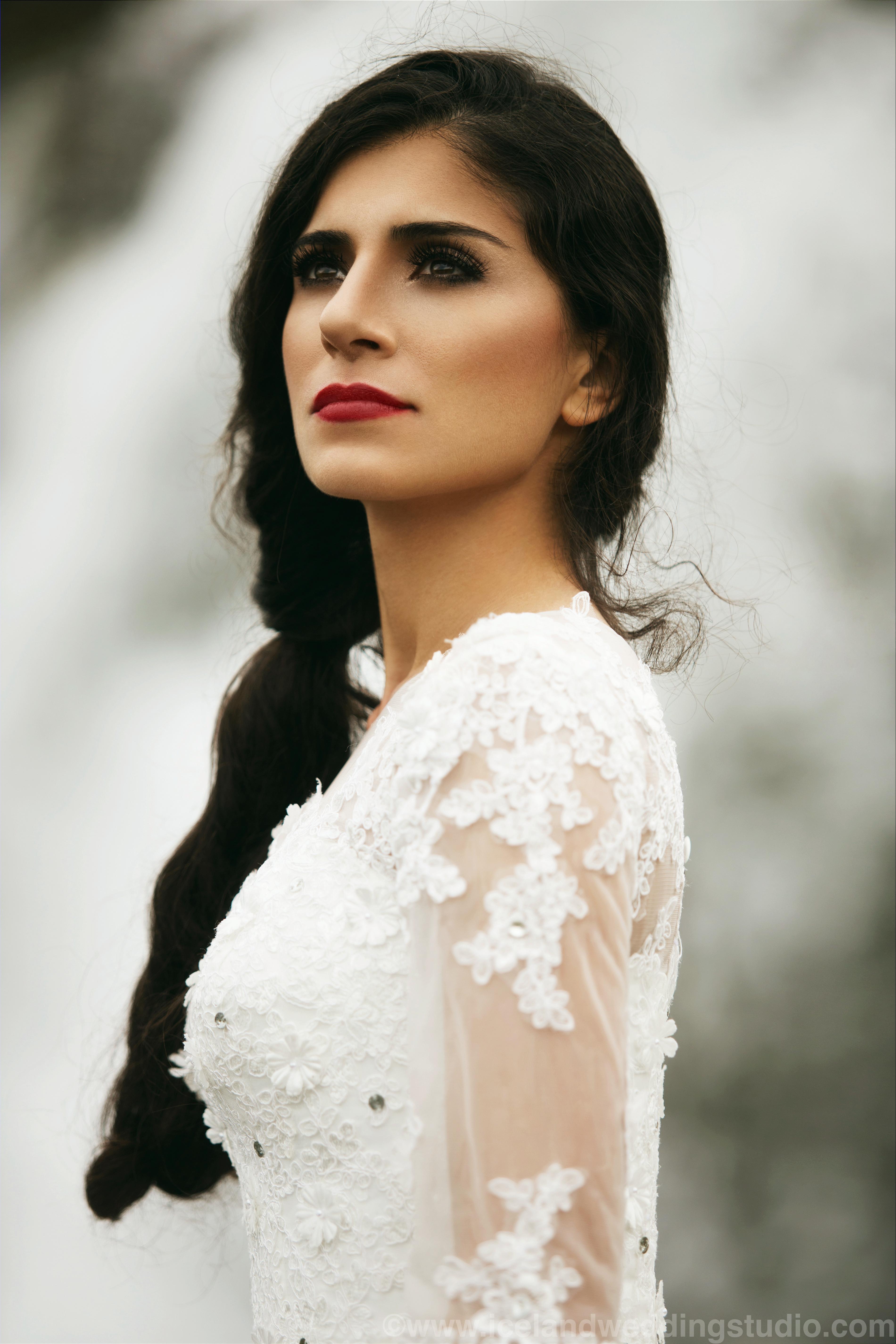 冰岛新娘化妆造型