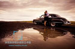 复古婚礼写真,冰岛专业人像摄影师