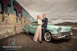40' wedding travel photo