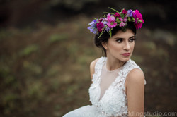 floral bride Iceland
