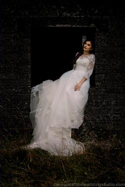 时尚新娘,冰岛冷艳风