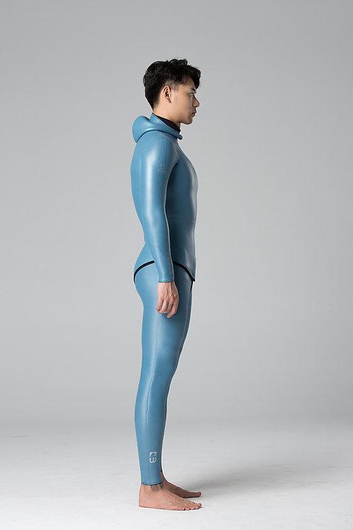 BESTDIVE 3mm男士經典炫彩防寒衣 晨暮藍
