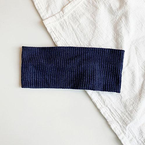 針織運動髮帶 藍綠 5條超值組