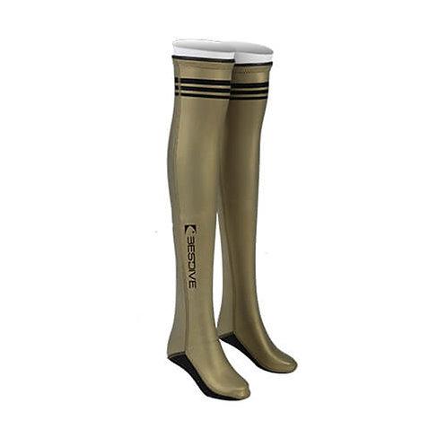 BESTDIVE 2mm氯丁橡膠過膝潛水襪 琥珀金