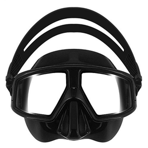 ZMZ 玻璃廣角防起霧低容積面鏡 黑色