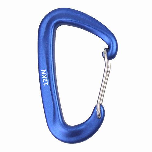 航空鋁D型連結扣環 藍色-3入組 浮球扣物 綁底 連結繩好用