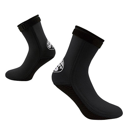HISEA 3MM長筒襪套 黑色