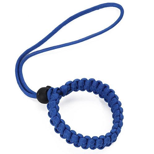 手作編織Gopro防丟失手繩 藍色