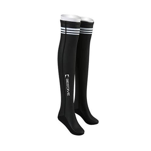 BESTDIVE 2mm氯丁橡膠過膝潛水襪 石墨黑