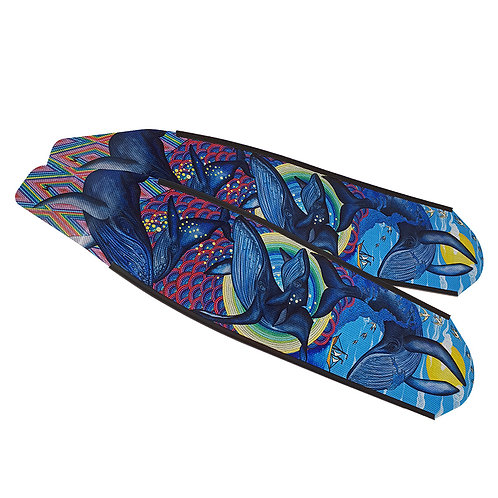 DIVER 大翅鯨 碳纖維長蛙鞋板