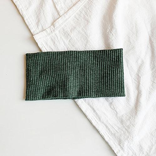 針織運動髮帶 軍綠 5條超值組