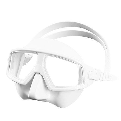大神款廣角防起霧低容積面鏡 白色