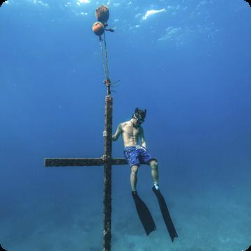 綠島 國際級高清玻璃海