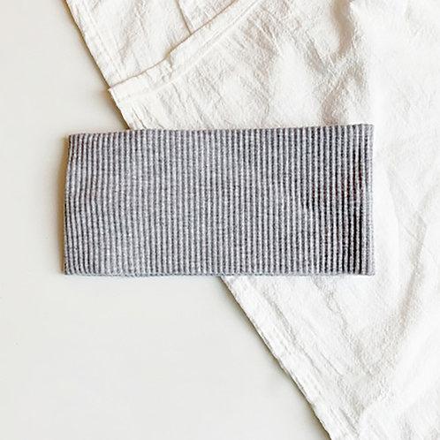 針織運動髮帶 淺灰 5條超值組