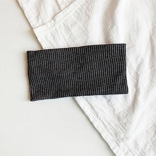 針織運動髮帶 深灰 5條超值組