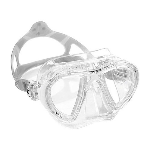 Cressi Nano 義大利進口玻璃低容積面鏡 透明