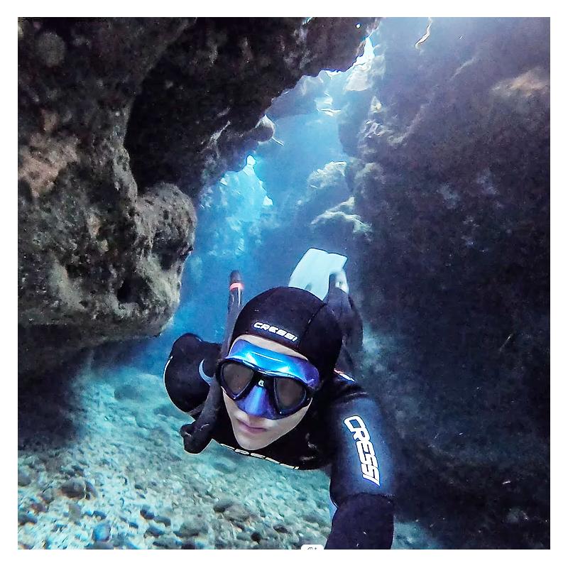 綠島 國際級透明玻璃海