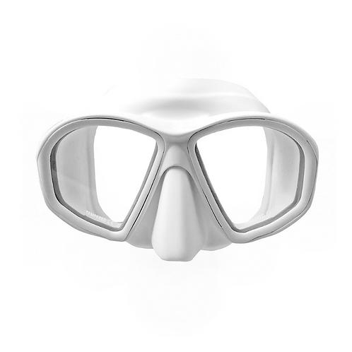 好捏鼻玻璃低容積面鏡 白色