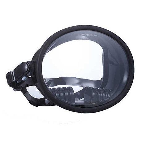 WAVE 海女全景視野潛水面鏡 黑色 非低容積