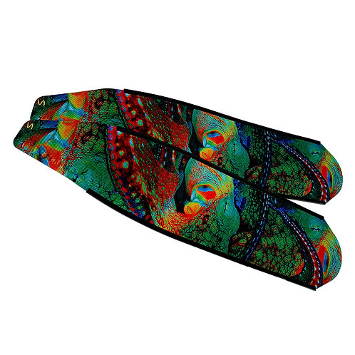 DIVER 章魚 碳纖維長蛙鞋板 ( 不含腳套 )