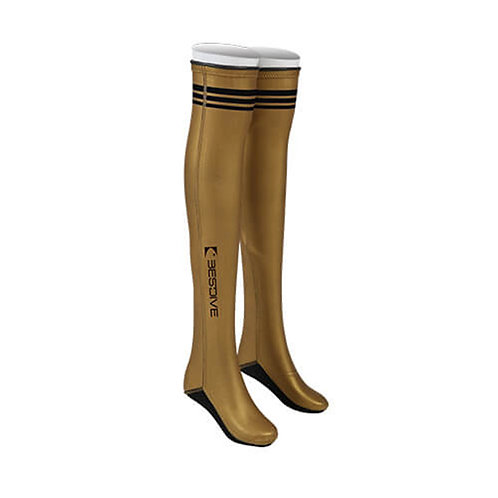 BESTDIVE 2mm氯丁橡膠過膝潛水襪 炫彩金