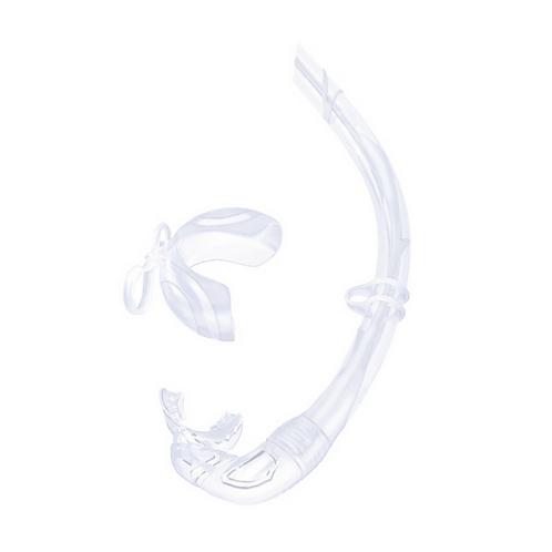 柔軟可摺濕式呼吸管 透明