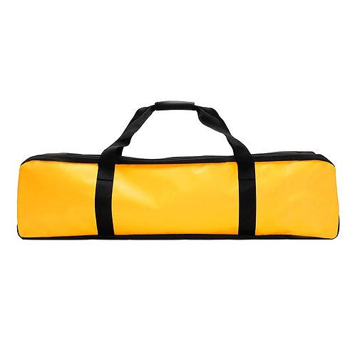 質感滑面防水蛙鞋袋 - 黃色