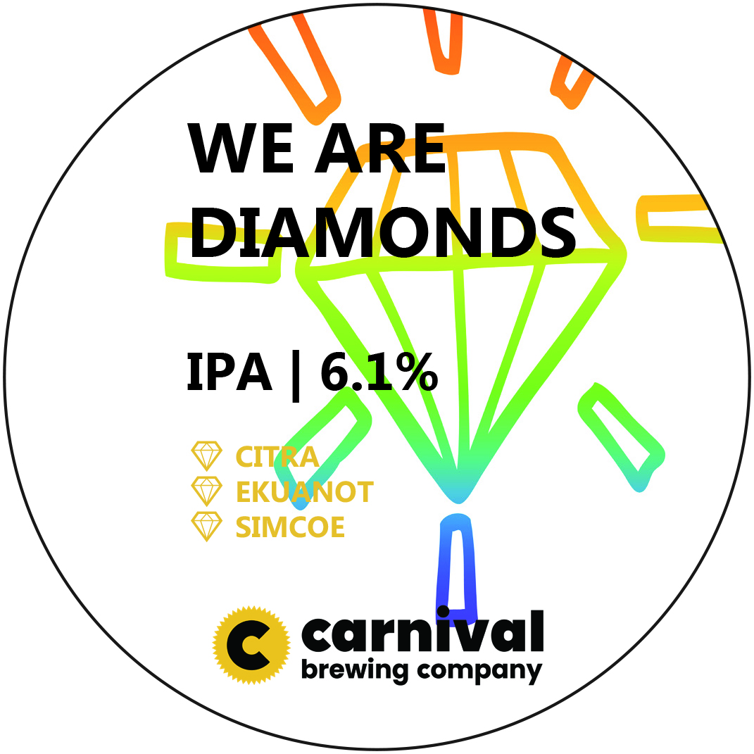 WE ARE DIAMONDS IPA 6.1%