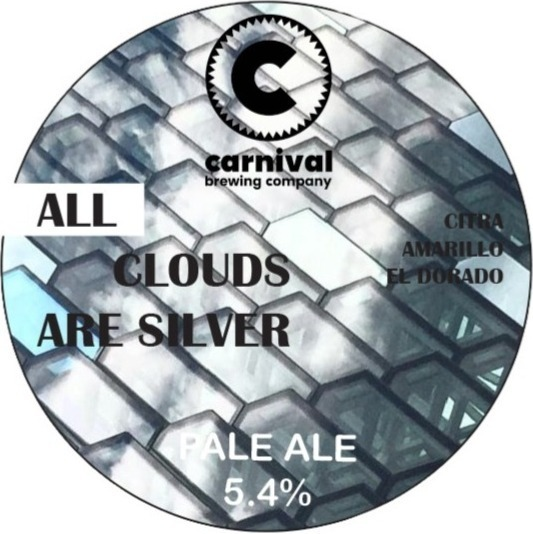 ALL CLOUDS ARE SILVER PALE ALE (5.4%)