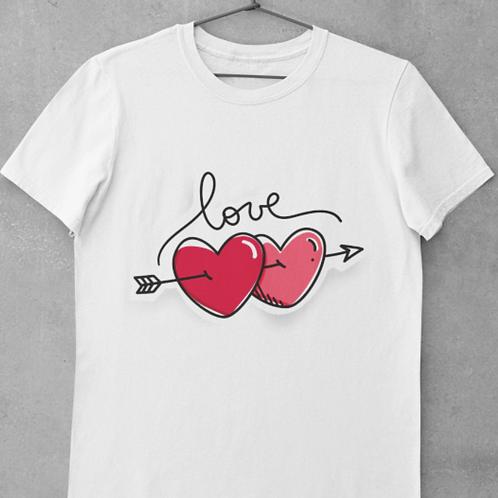 Tee   Heart&Love