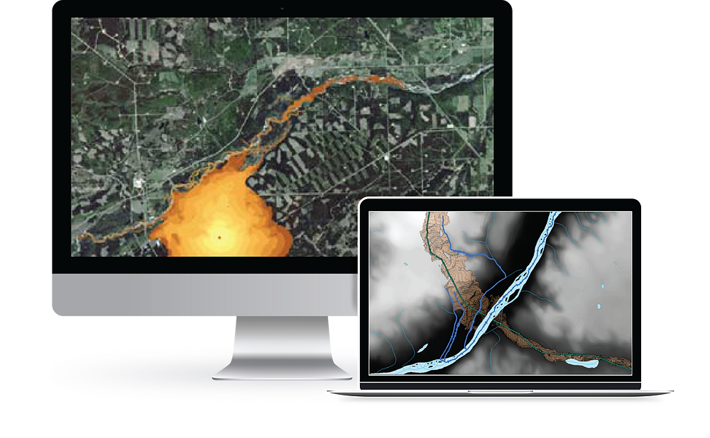 Blog post on the software solutions offered by Integrated Informatics Inc including ArcGIS applications for Decision Support, including Integrated Offsite for Overland Flow and Fate and Transport Modeling for Oil and Gas pipeline spills.