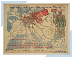 Article on propaganda maps from World War I, including the ominous octopus feature that shows grasping power.