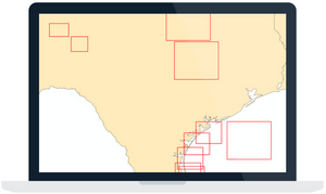 Blog series on reviewing spatial data and identifying broken files and issues, including coordinating common ArcGIS map extents and boundaries.