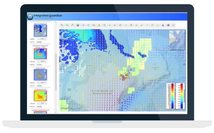 Article on utilizing online applications and web maps for managing Environmental data, especially for Oil and Gas companies.