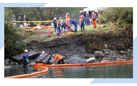 Blog post about streamlining Emergency Preparedness and Emergency Response practices with Geographic Information System GIS application technology, including questions to ask when an oil spill occurs.