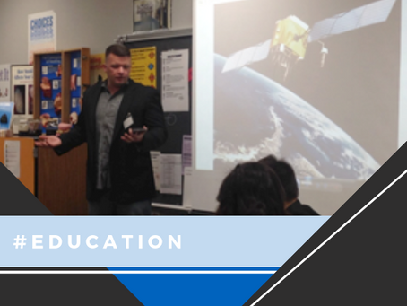 Integrated Informatics' Team Creates Career Day Curiosity With Interactive Mapping Presentation