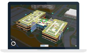 Desktop view of spatial data tour in Esri ArcGIS Pro.
