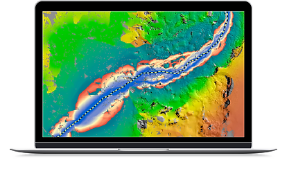 Locate potential Oil and Gas pipelines offshore with the Integrated Geomancy application for ArcGIS.
