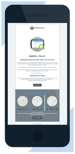 View the Integrated Informatics January 2018 email newsletter, showcasing the Integrated Marco Studio suite of applications for ArcGIS spatial data.
